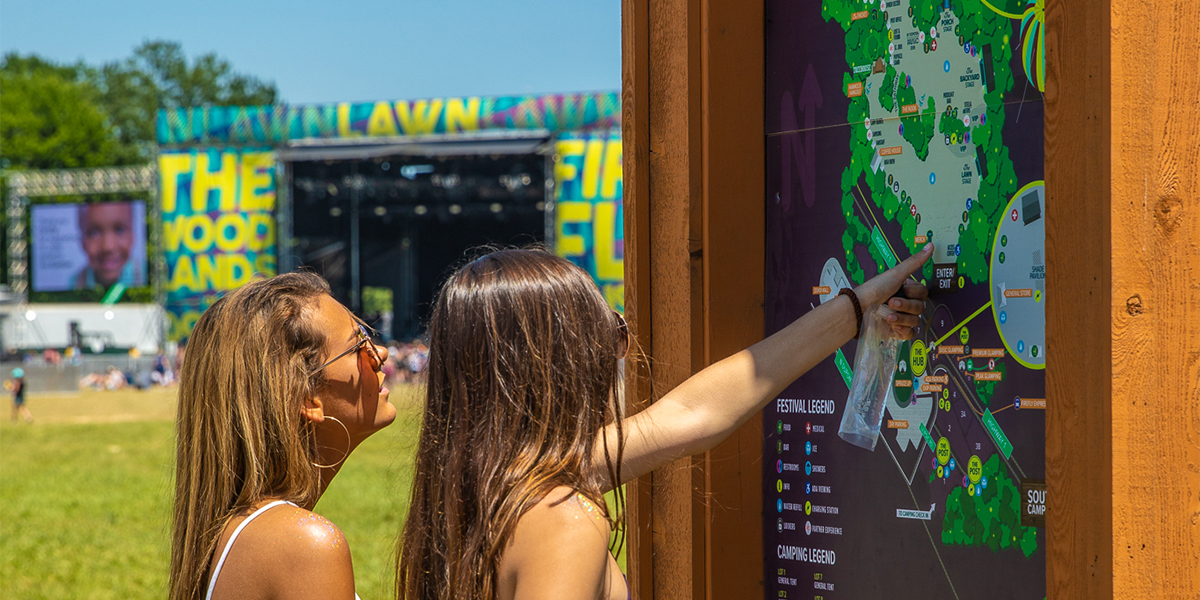Find Your Way Around The Woodlands! The Firefly 2019 Map Is Here...