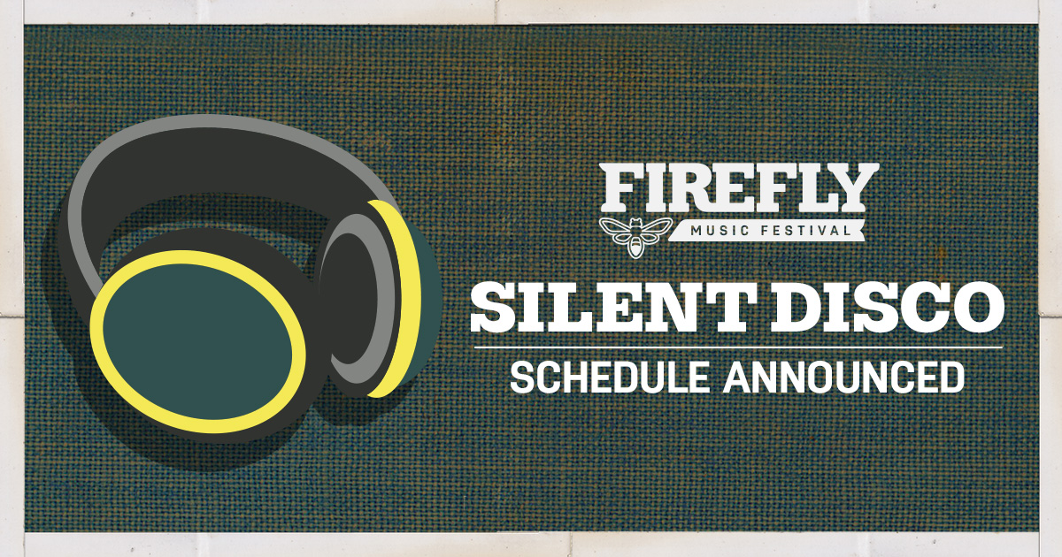 Shhhhhhhhh. 🤫🌳 The 2019 Silent Disco Lineup & Schedule are here!