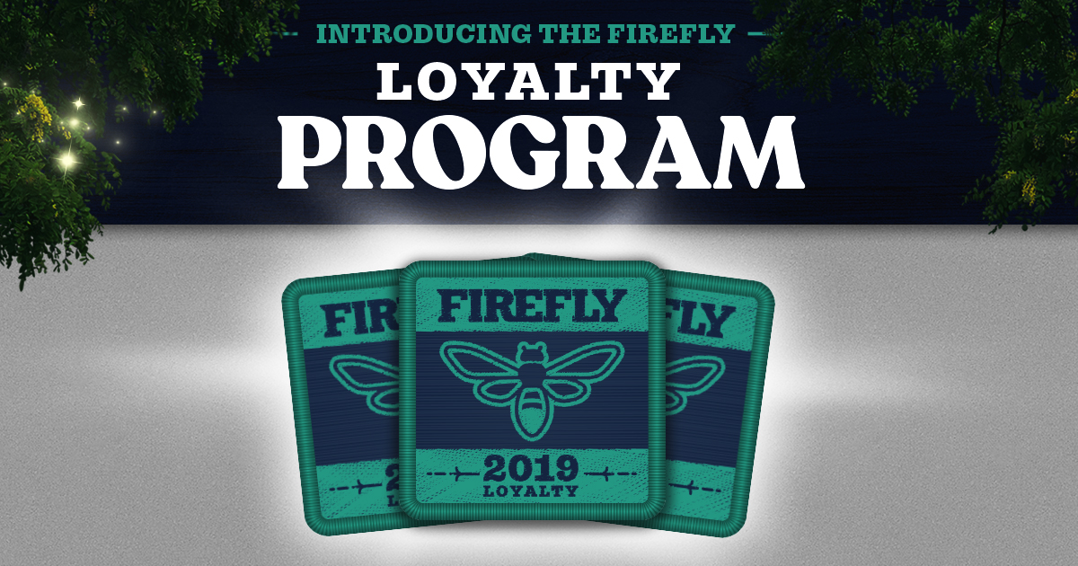 Register Your Wristband to Join The Frequent Fireflyers