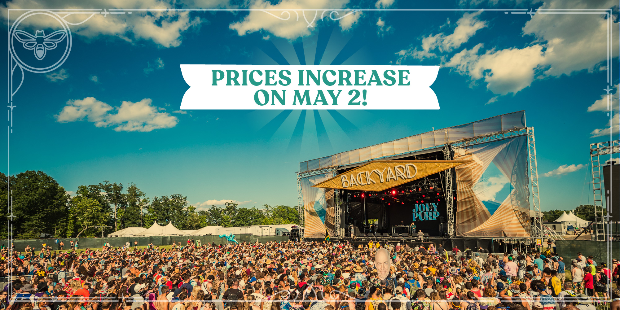 Weekend and Single Day GA Pass Prices Increase on May 2!