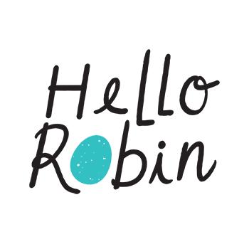 Hello Robin Cookies logo