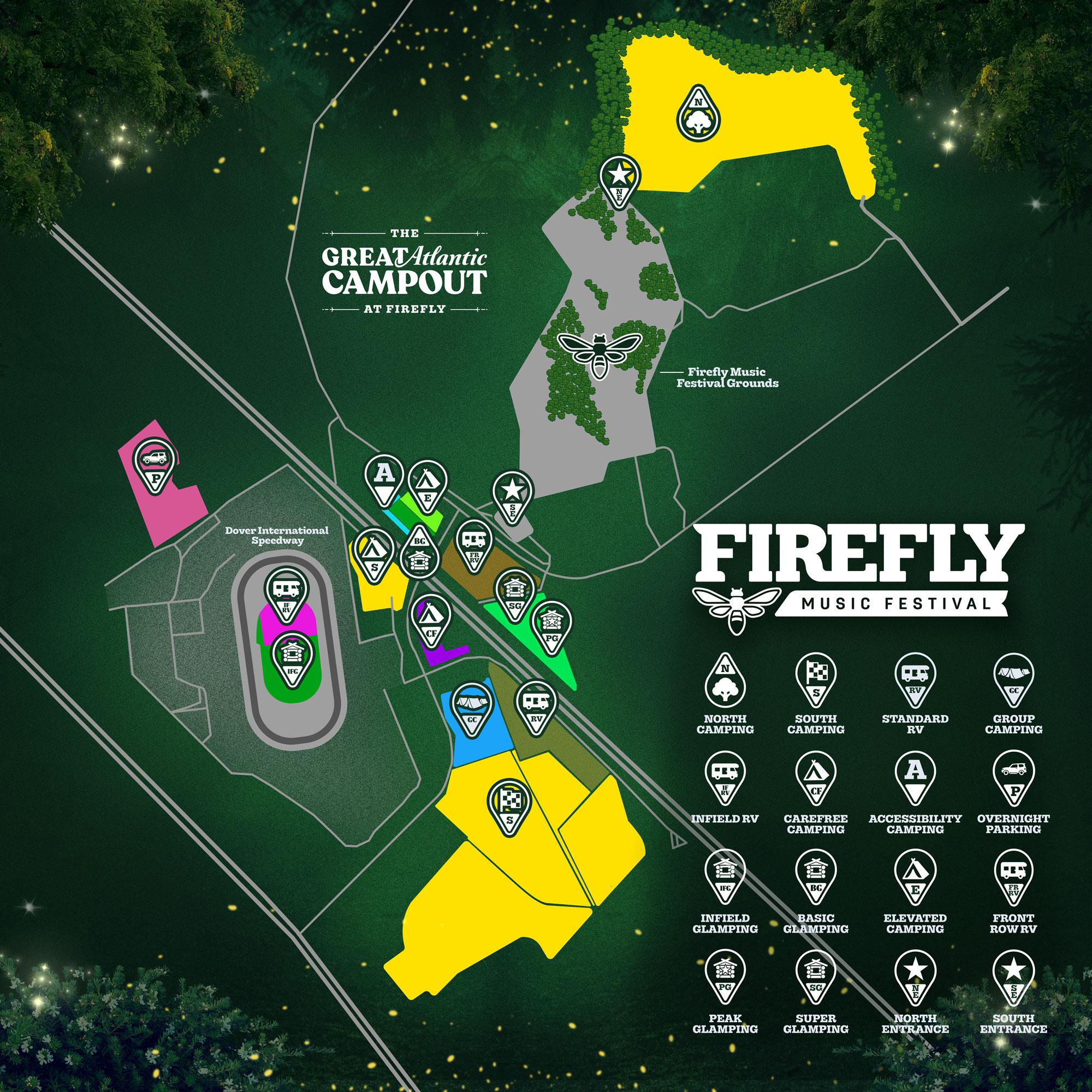 Firefly Music Festival | June 21 - 23 In Dover, Delaware