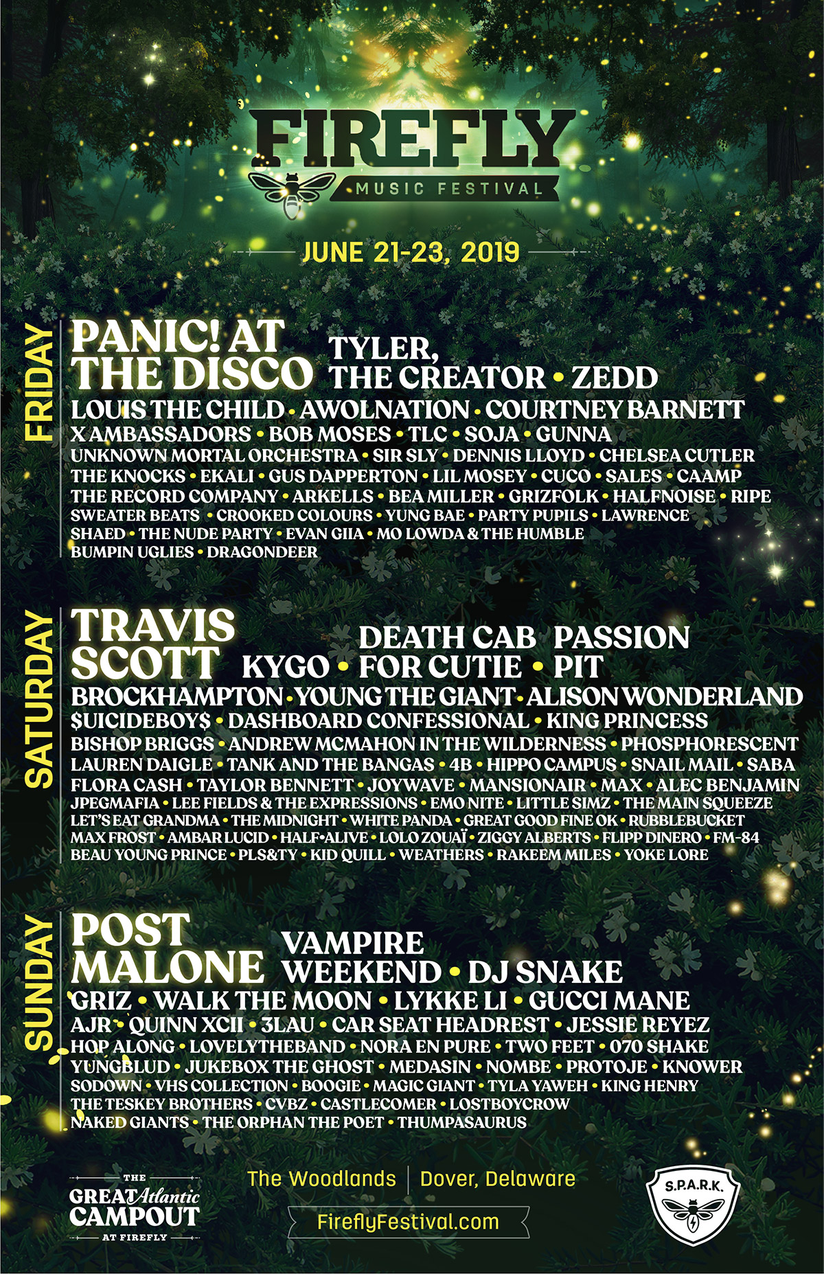 Firefly Music Festival | June 21 - 23 In Dover, Delaware