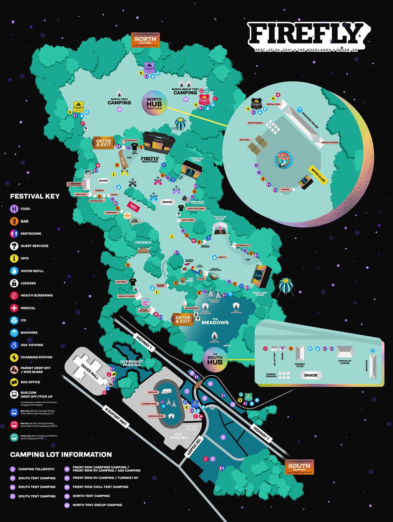 Firefly map