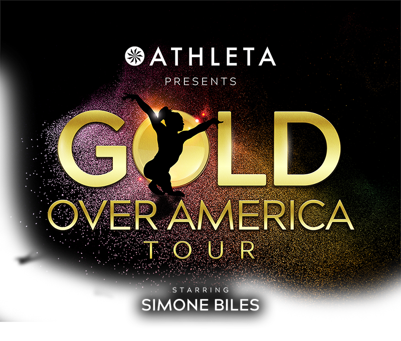 Gold Over America Tour logo