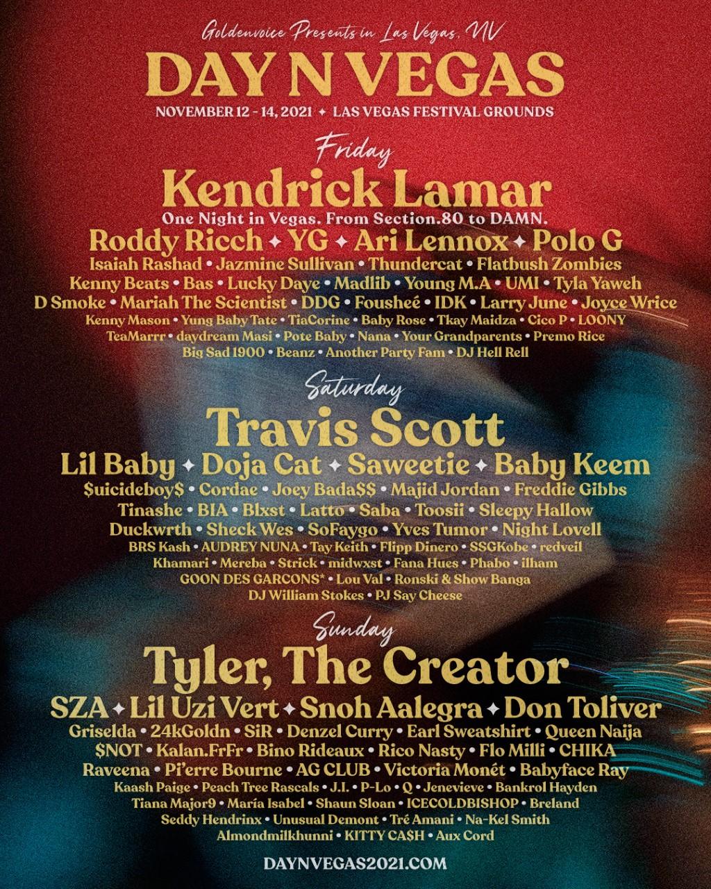 Day N Vegas 2021 poster