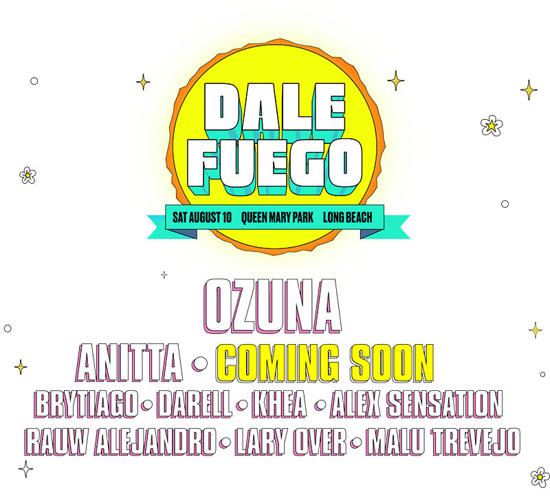 Dale Fuego lineup