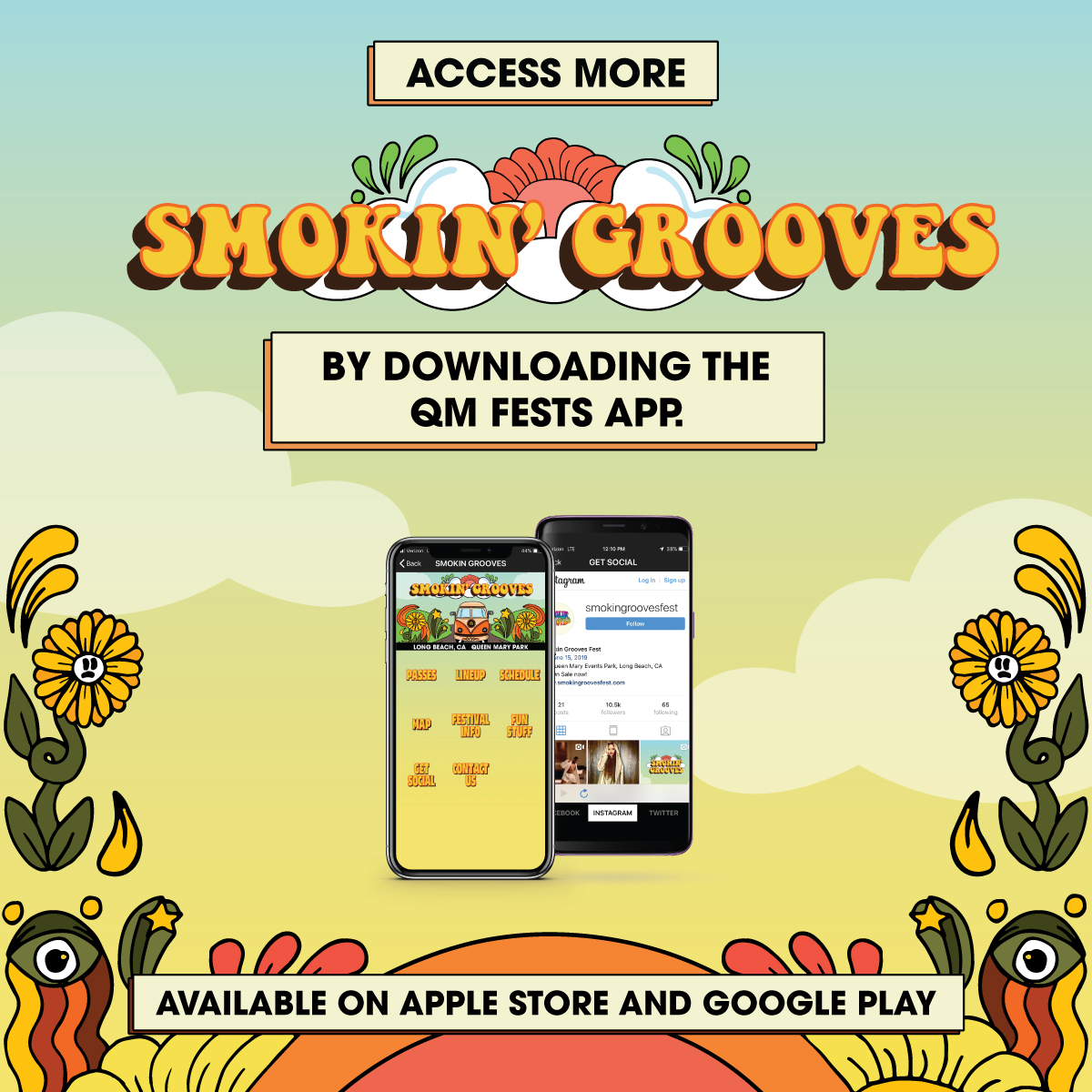 Smokin Groove Get The App poster