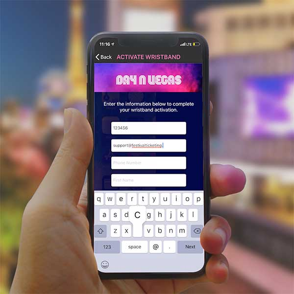 Day N Vegas mobile app photo