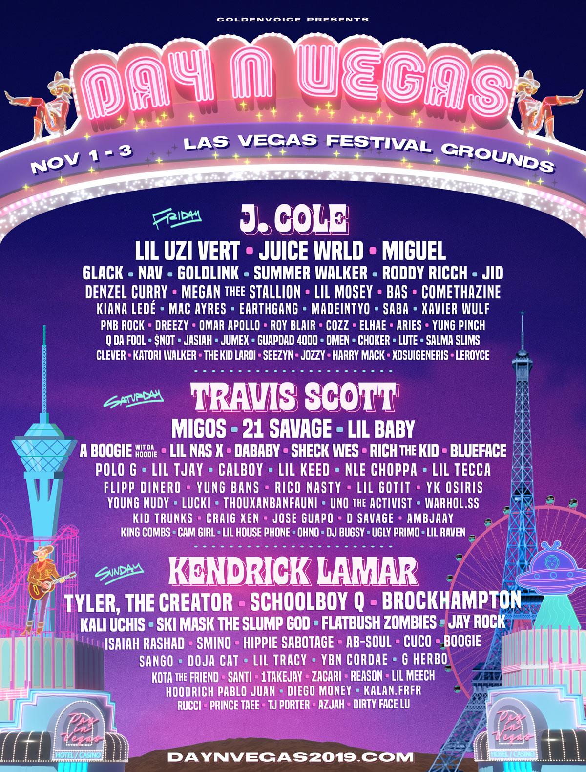 Day N Vegas 2019 poster