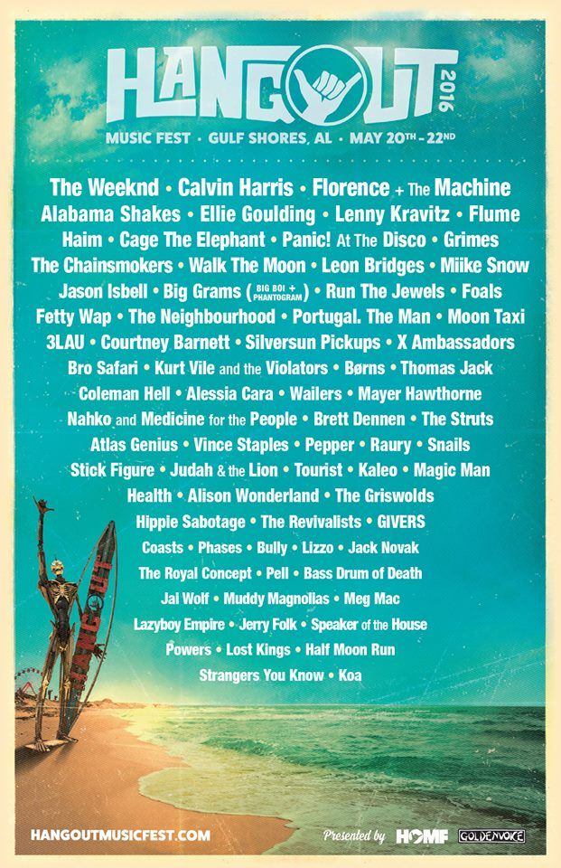 The Hangout Music Festival 2020.The Hangout Music Festival 2020 Festival 2020