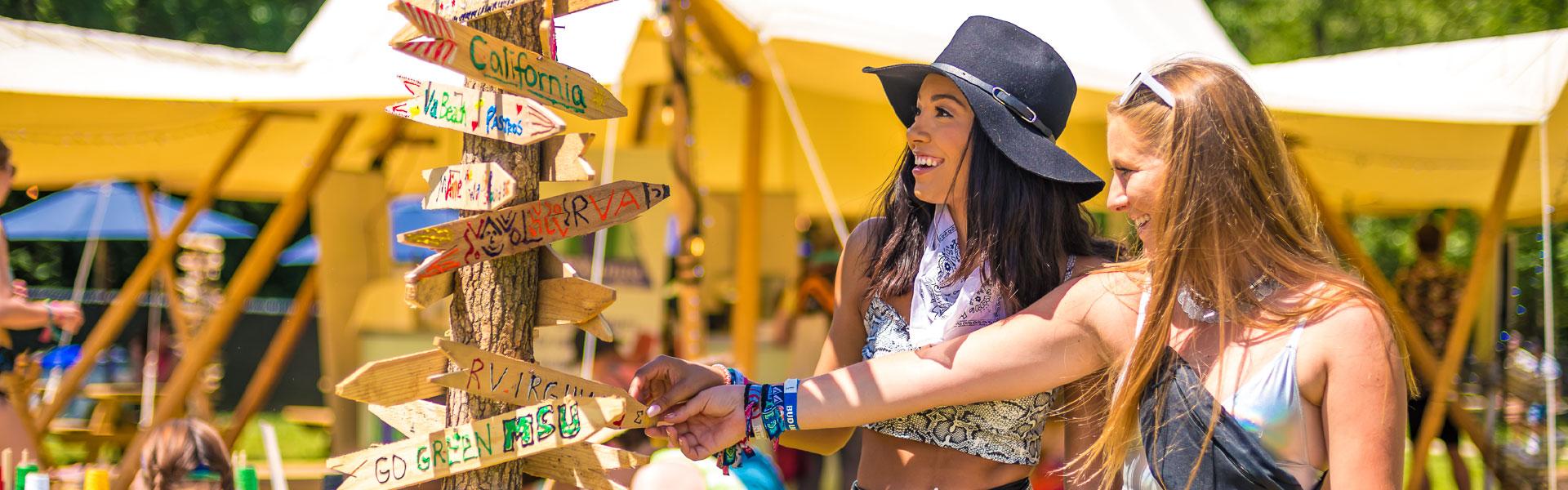 Firefly festival goers