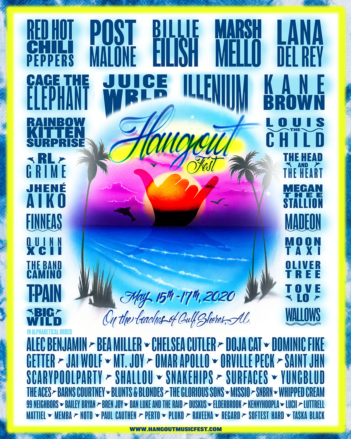 Ct Big List 2020.Hangout Music Fest May 15 17 2020