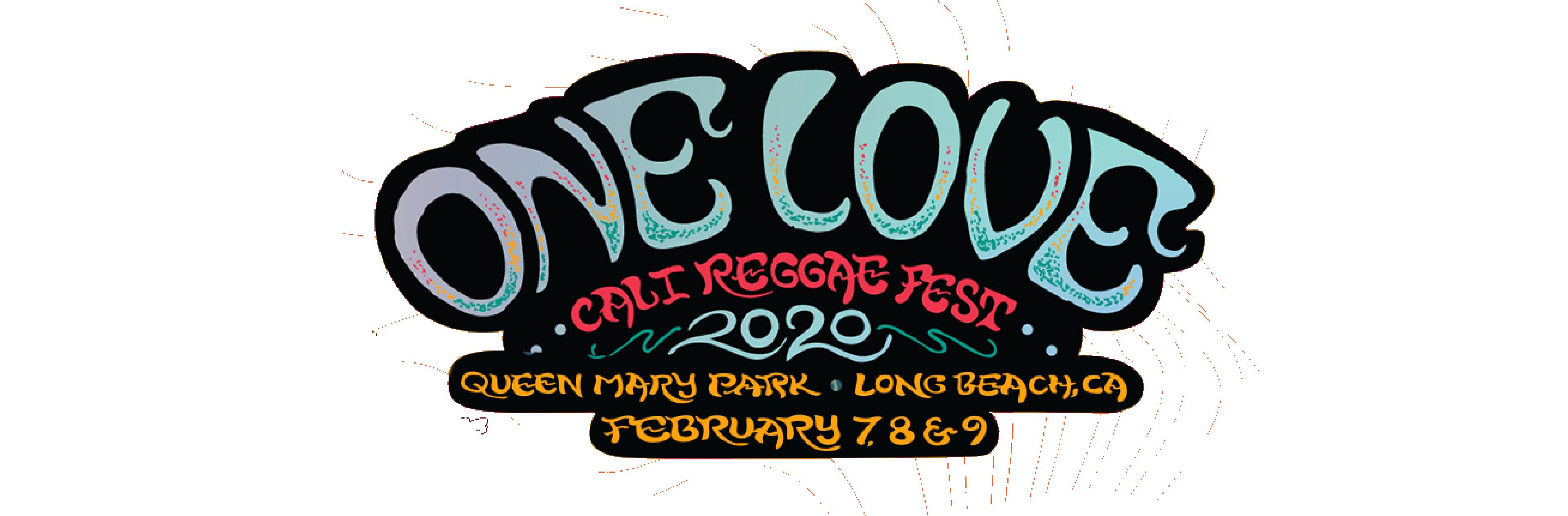 One Love Cali Reggae Fest 2020 logo