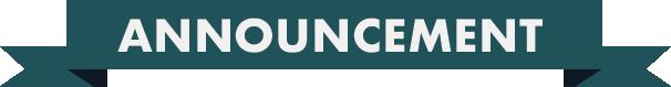 Announcement logo