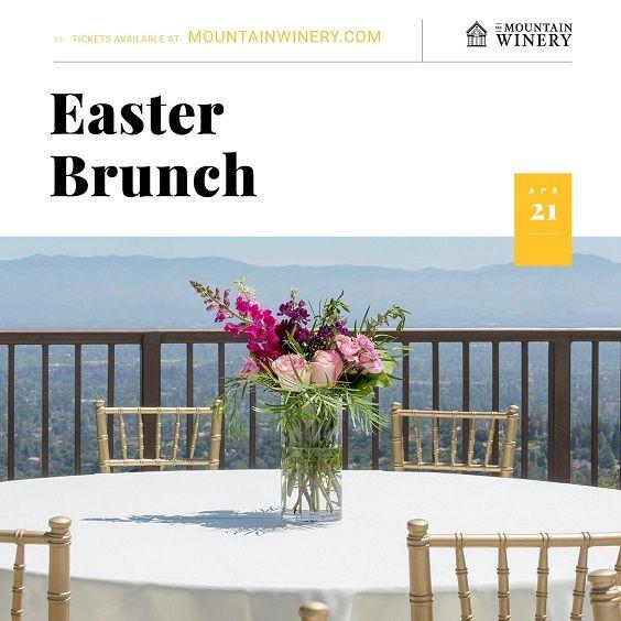 APR 21 - Easter Brunch