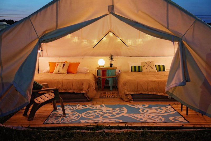 SUPER GLAMPING