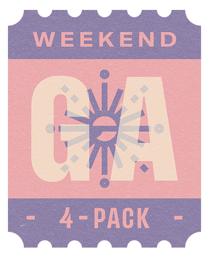 Weekend GA 4-pack icon