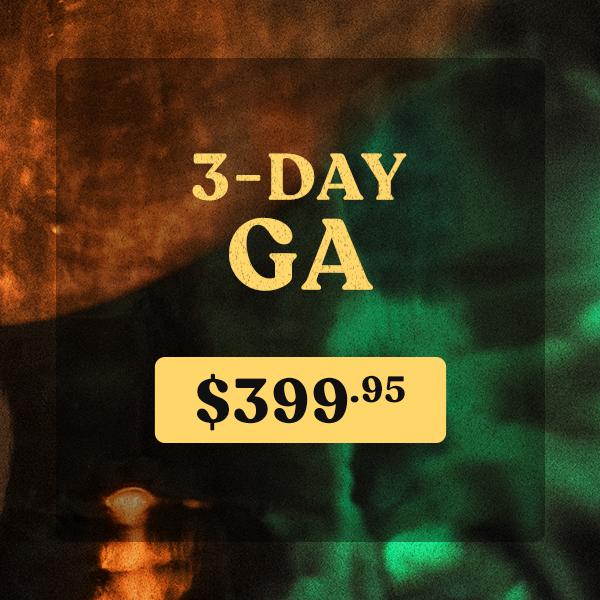 3-DAY GA ticket icon