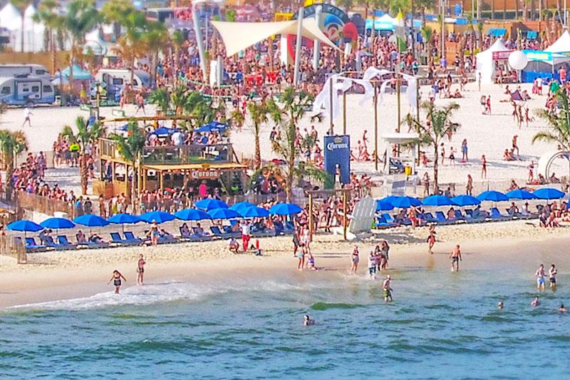 Swim and play at Corona Beach