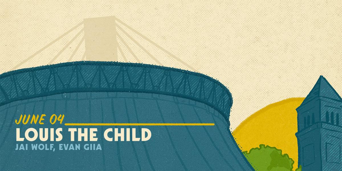 Louis The Child - June  4, 2020 show flyer