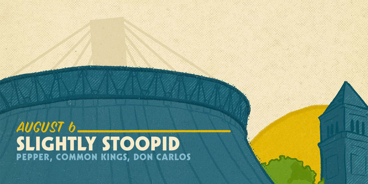 Slightly Stoopid - August 6, 2020 show flyer