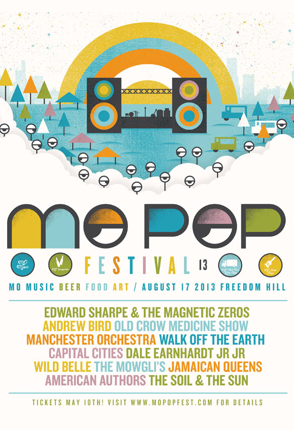Mo Pop 2013 poster
