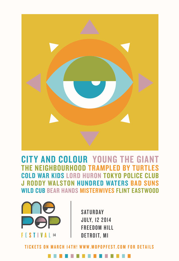 Mo Pop 2014 poster