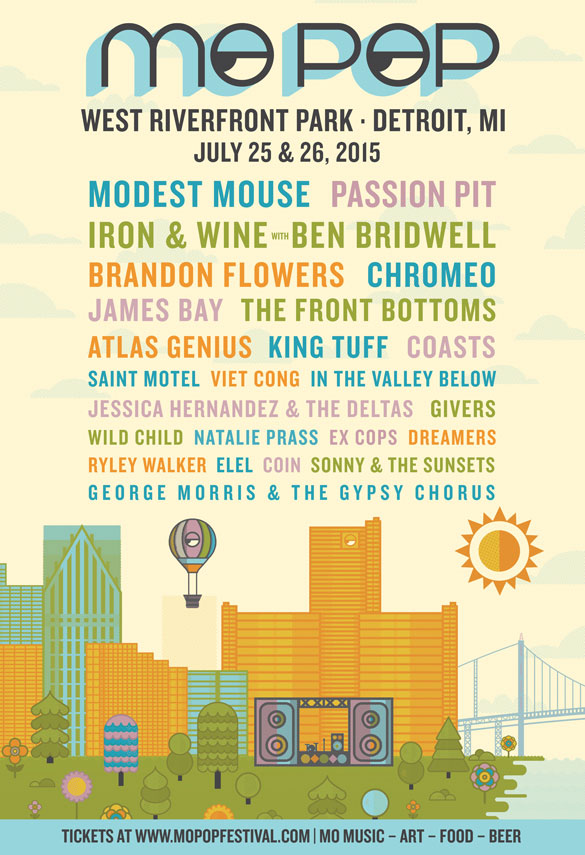 Mo Pop 2015 poster