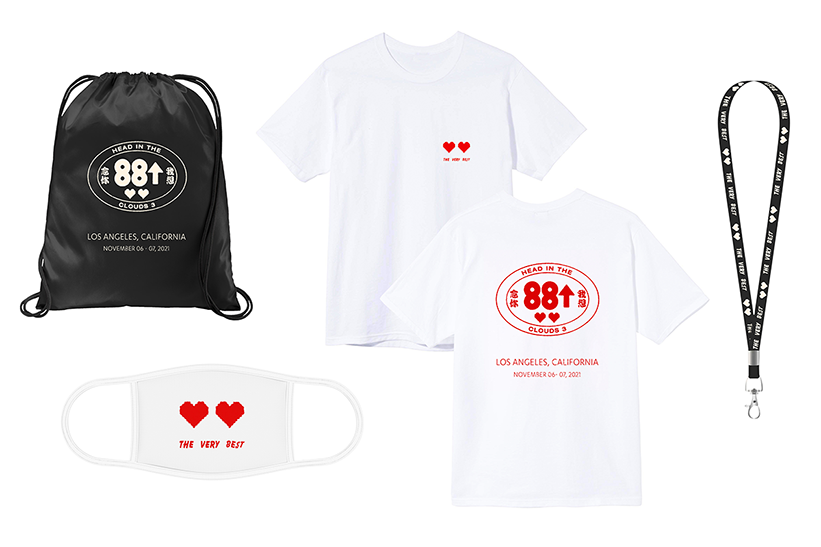 VIP Merch Package photo provided by Head in the Clouds